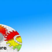 Foto: Software-Verpackung und Software-CD